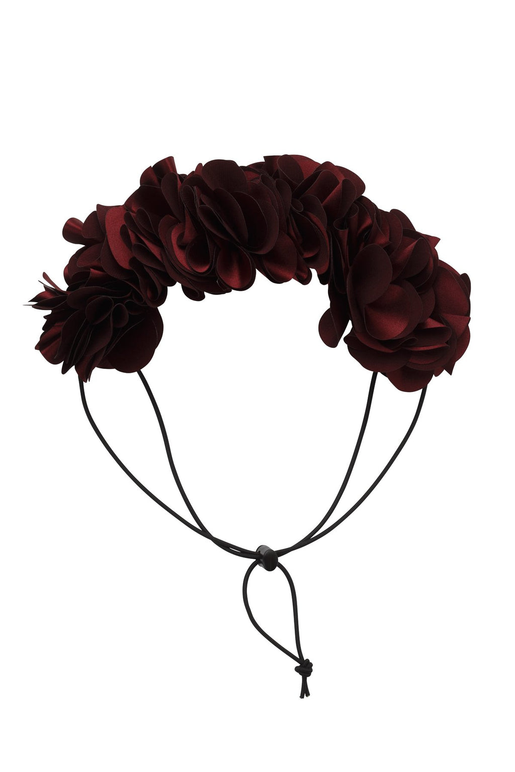 Floral Wreath Petit - Burgundy - PROJECT 6, modest fashion