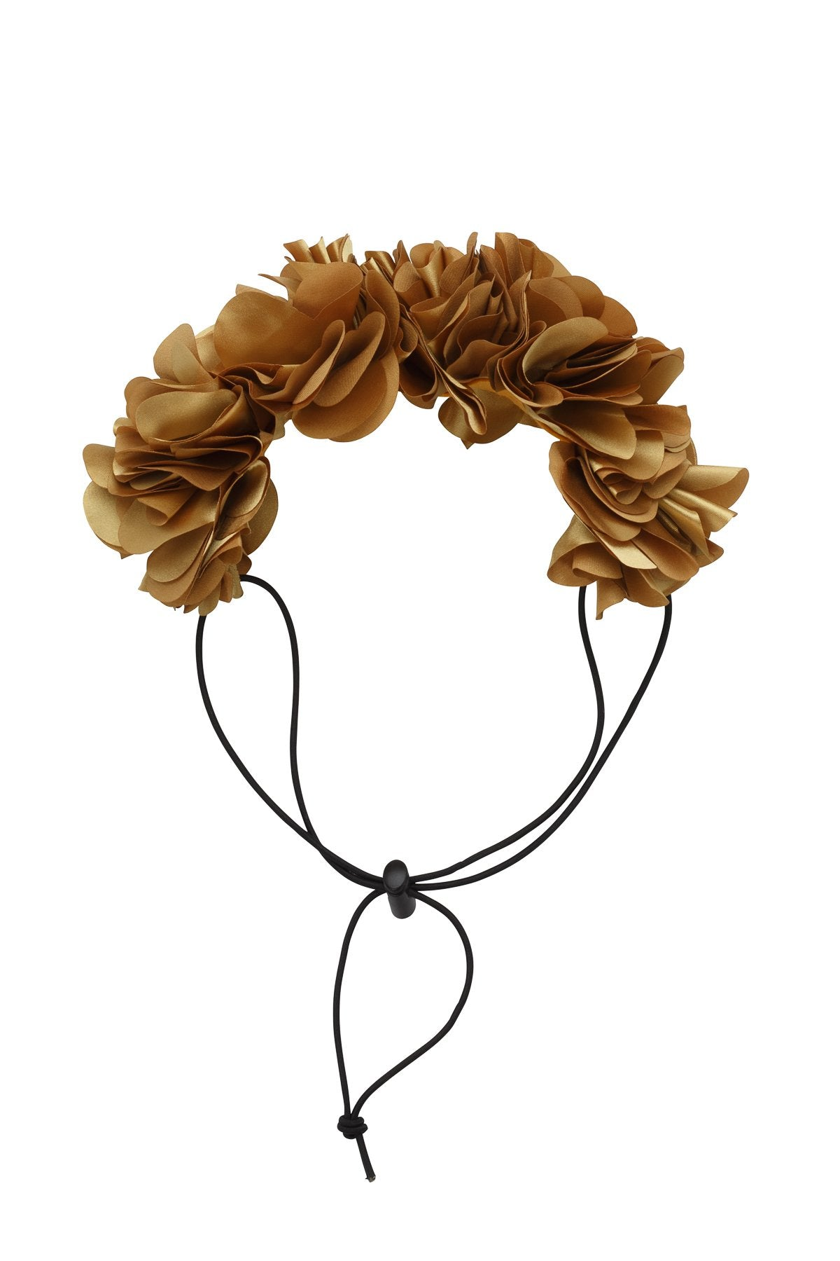 Floral Wreath Petit - Gold - PROJECT 6, modest fashion