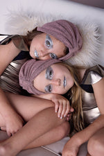 Load image into Gallery viewer, Turban Wool - Blush - PROJECT 6, modest fashion