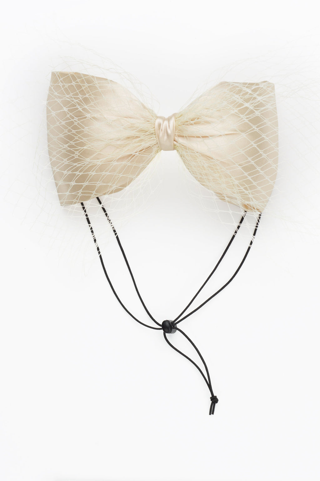 Avant Garde Bow Grand - Yellow Ivory - PROJECT 6, modest fashion