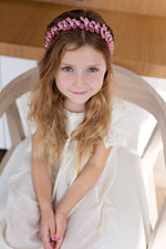 Load image into Gallery viewer, Satin Tied Headband - Dove Ivory - PROJECT 6, modest fashion