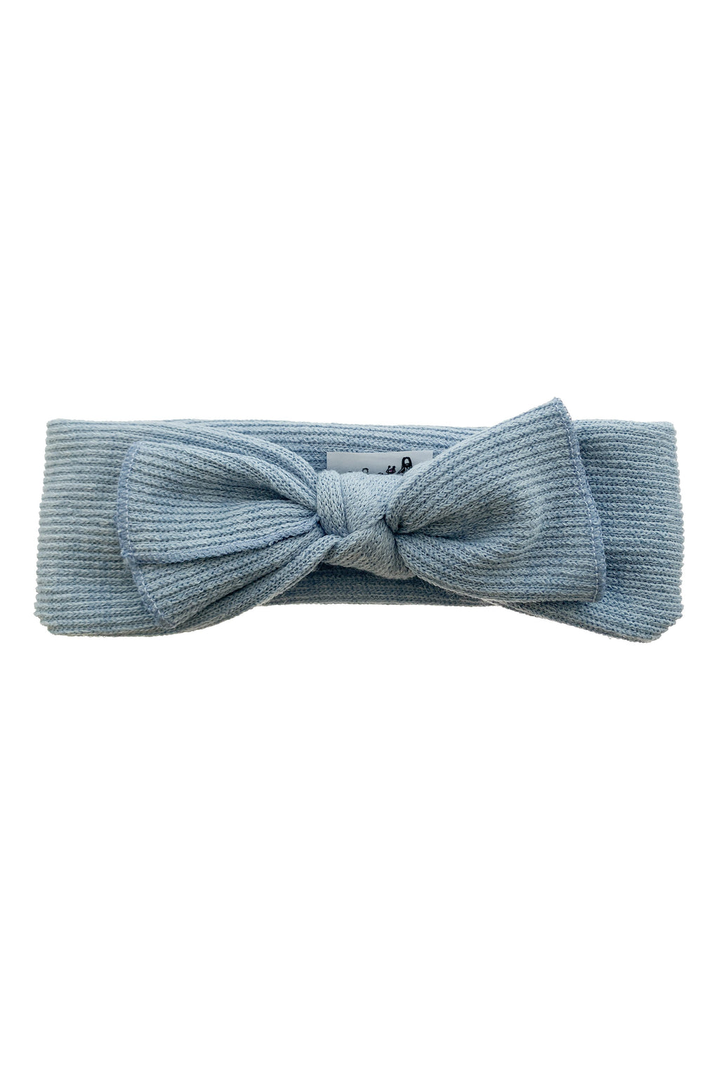 Knitted Bow Wrap - Blue - PROJECT 6, modest fashion