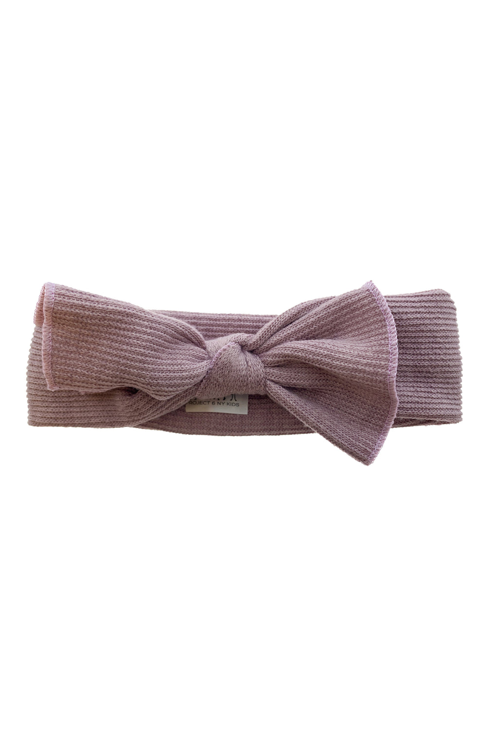 Knitted Bow Wrap - Purple Mauve - PROJECT 6, modest fashion