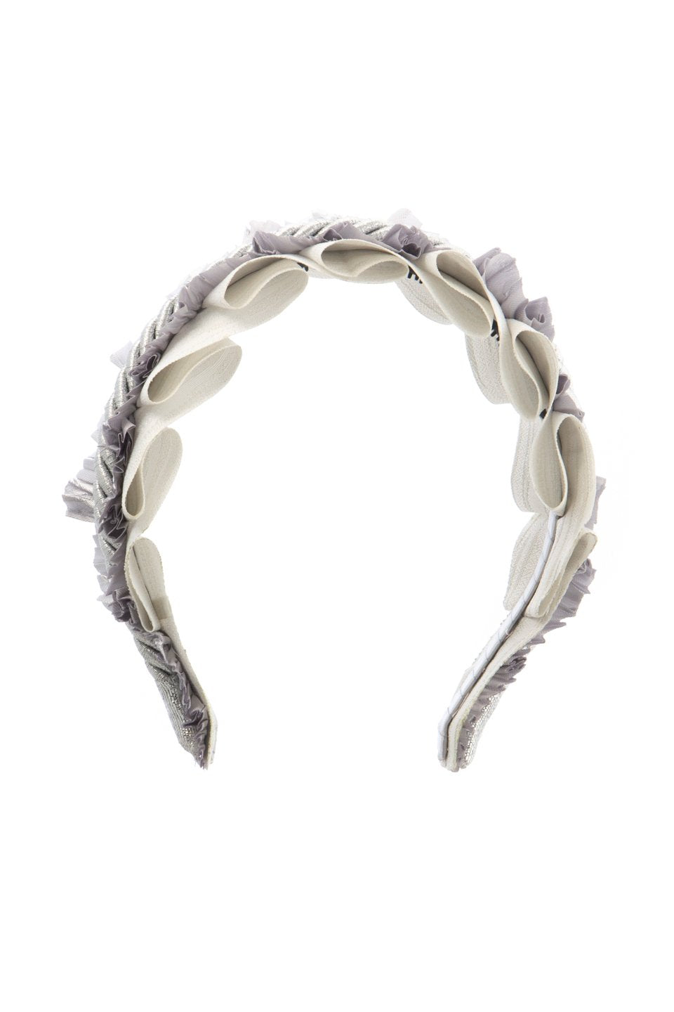 Layered Headband - Light Grey/Silver - PROJECT 6, modest fashion