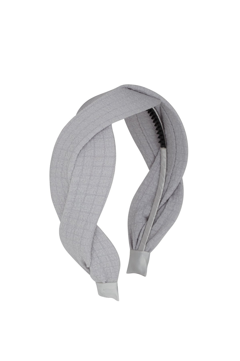 Octagon Headband - Light Grey - PROJECT 6, modest fashion