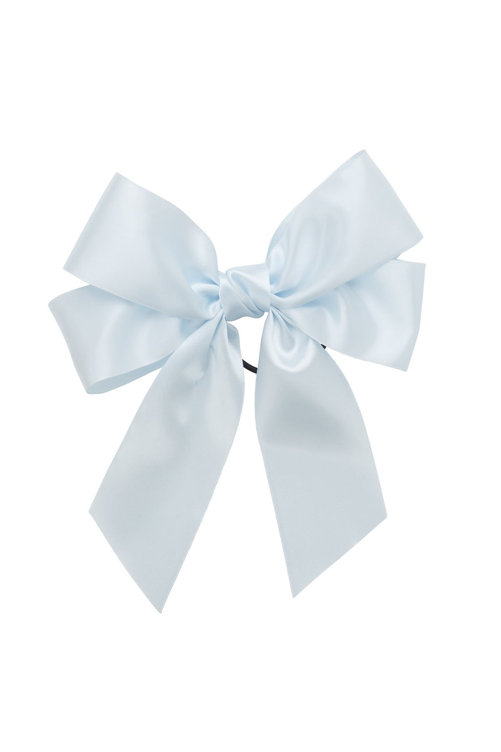 Oversized Bow Pony/Clip - Blue Vapor - PROJECT 6, modest fashion