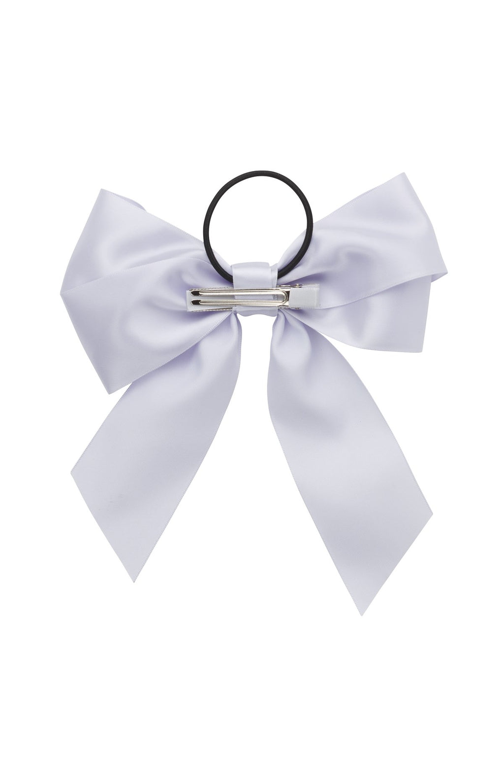 Oversized Bow Pony/Clip - Lilac - PROJECT 6, modest fashion