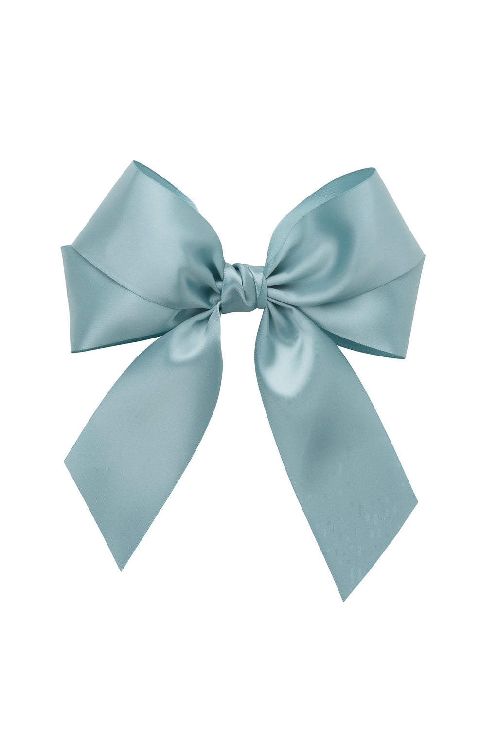 Oversized Bow Pony/Clip - Nile Blue - PROJECT 6, modest fashion