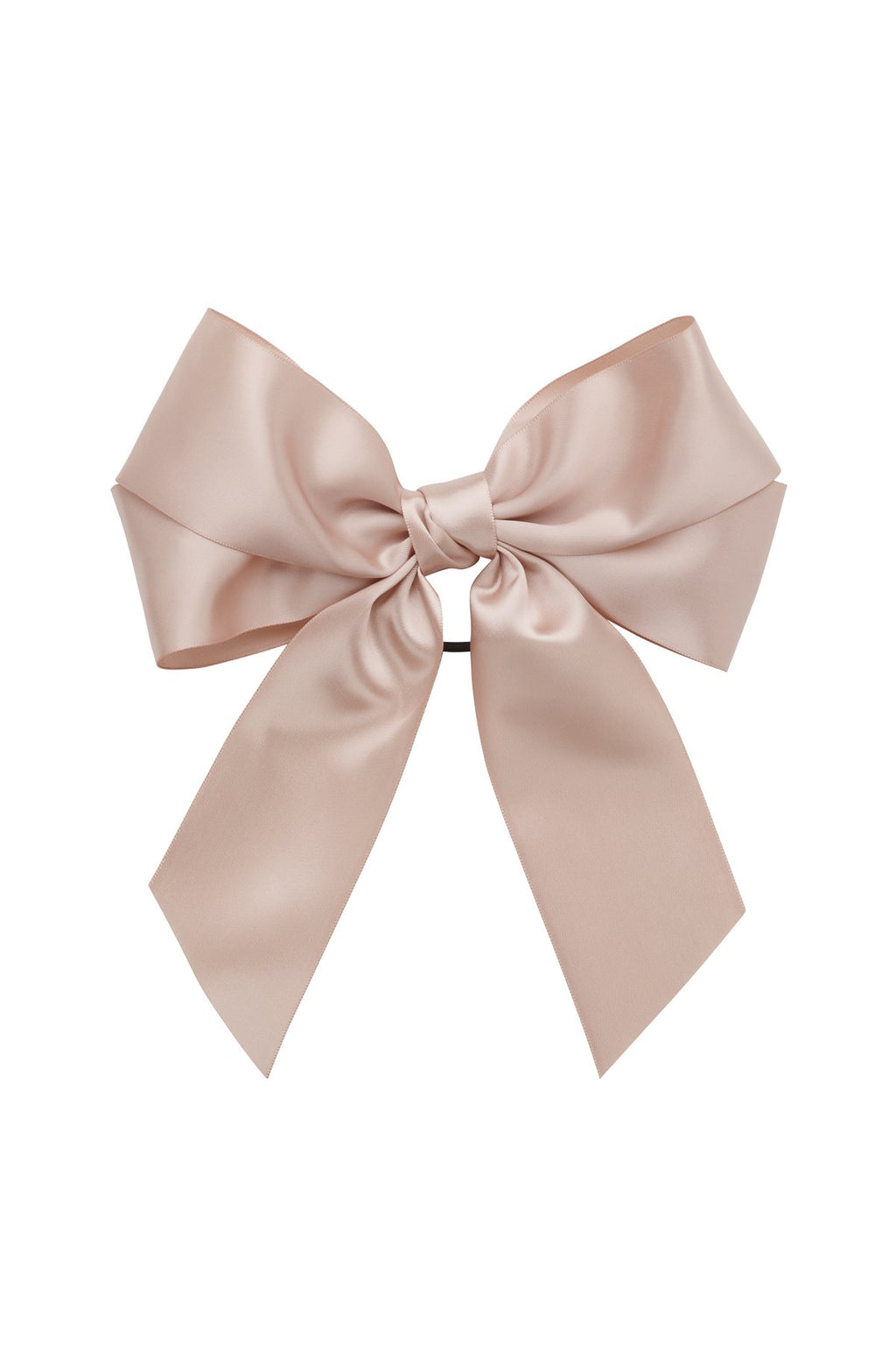 Oversized Bow Pony/Clip - Vanilla - PROJECT 6, modest fashion