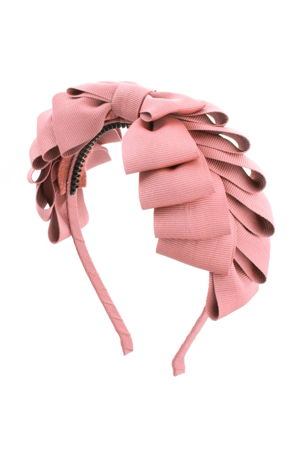 Pleated Ribbon Grosgrain Headband - Sweet Nectar - PROJECT 6, modest fashion