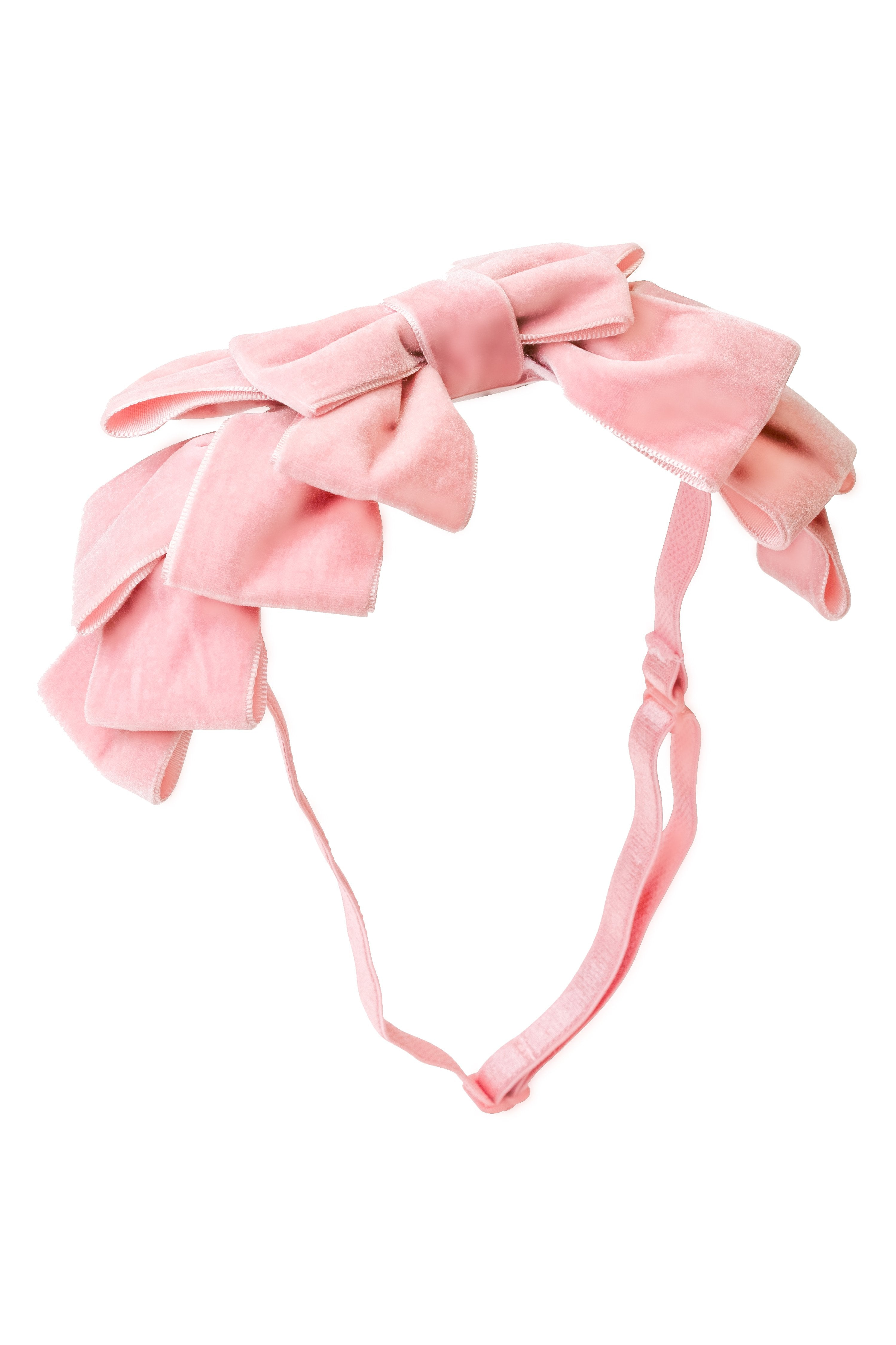Pleated Ribbon Velvet Wrap - Ballerina Pink - PROJECT 6, modest fashion