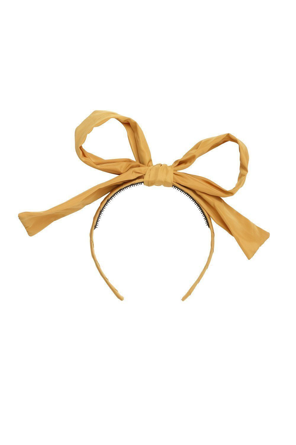 Party Bow Taffeta - Mustard - PROJECT 6, modest fashion