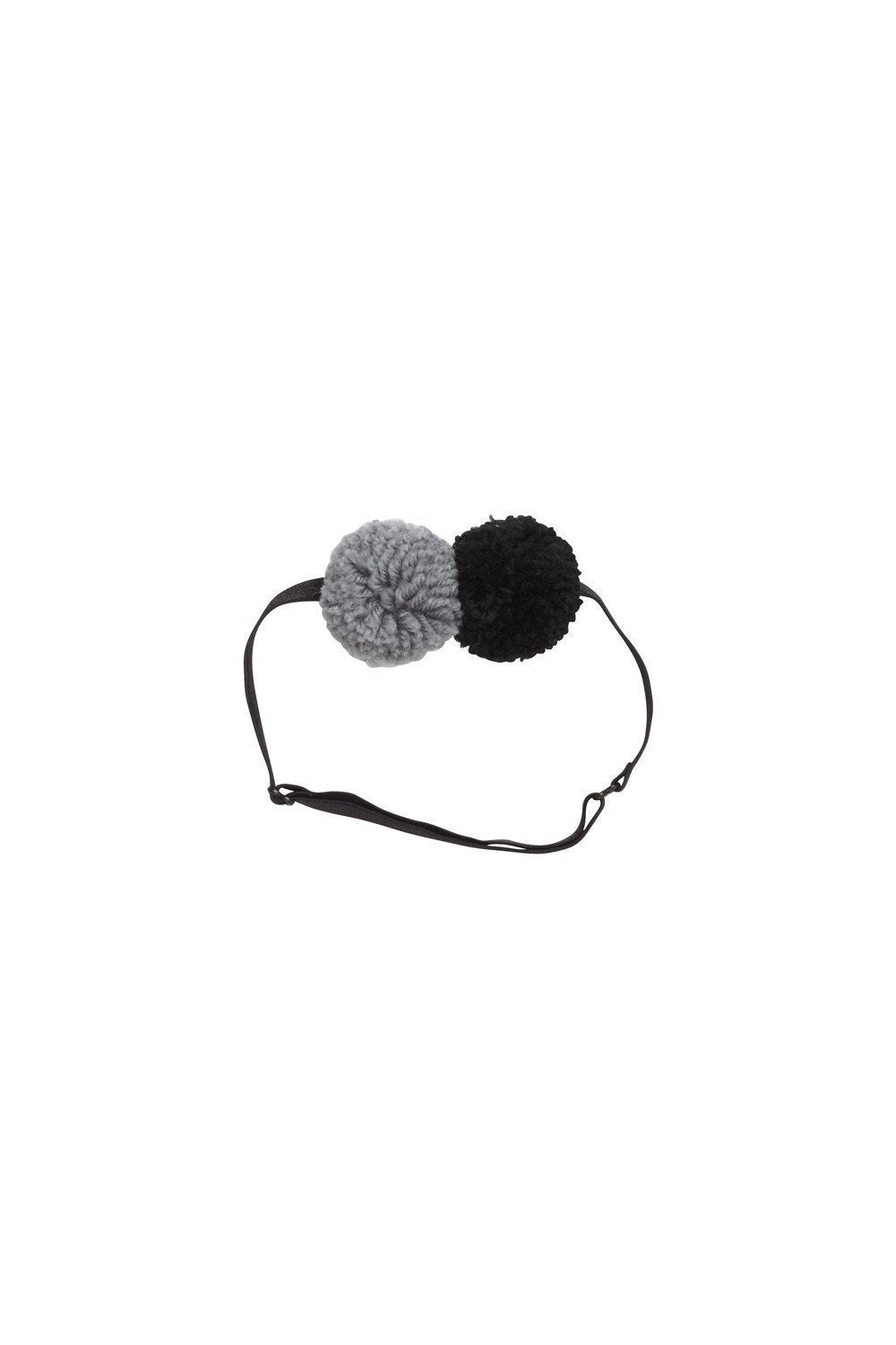 Yarn Pom Pom Baby - Grey/Black - PROJECT 6, modest fashion