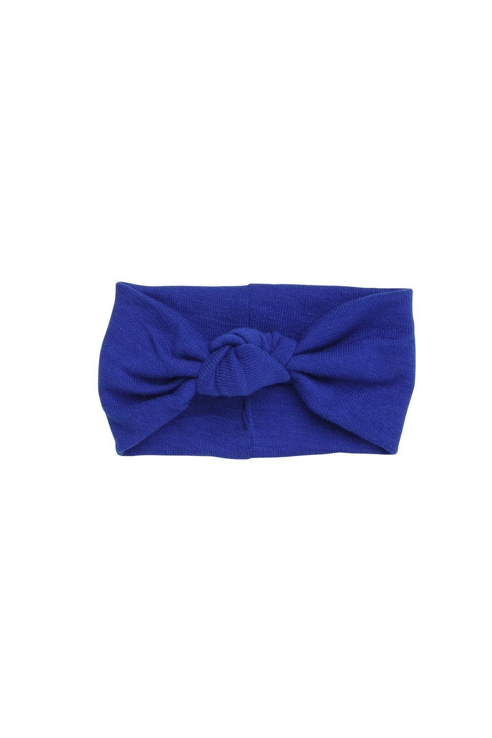 Knot Wrap - Cobalt Wool - PROJECT 6, modest fashion