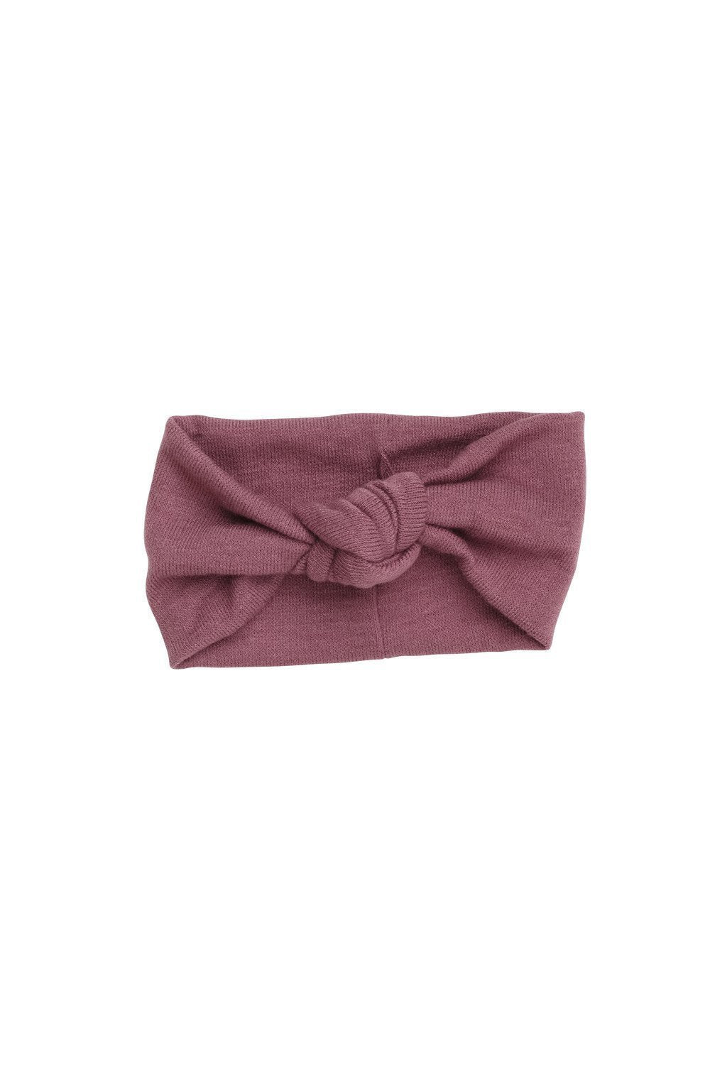 Knot Wrap - Light Mauve Wool - PROJECT 6, modest fashion