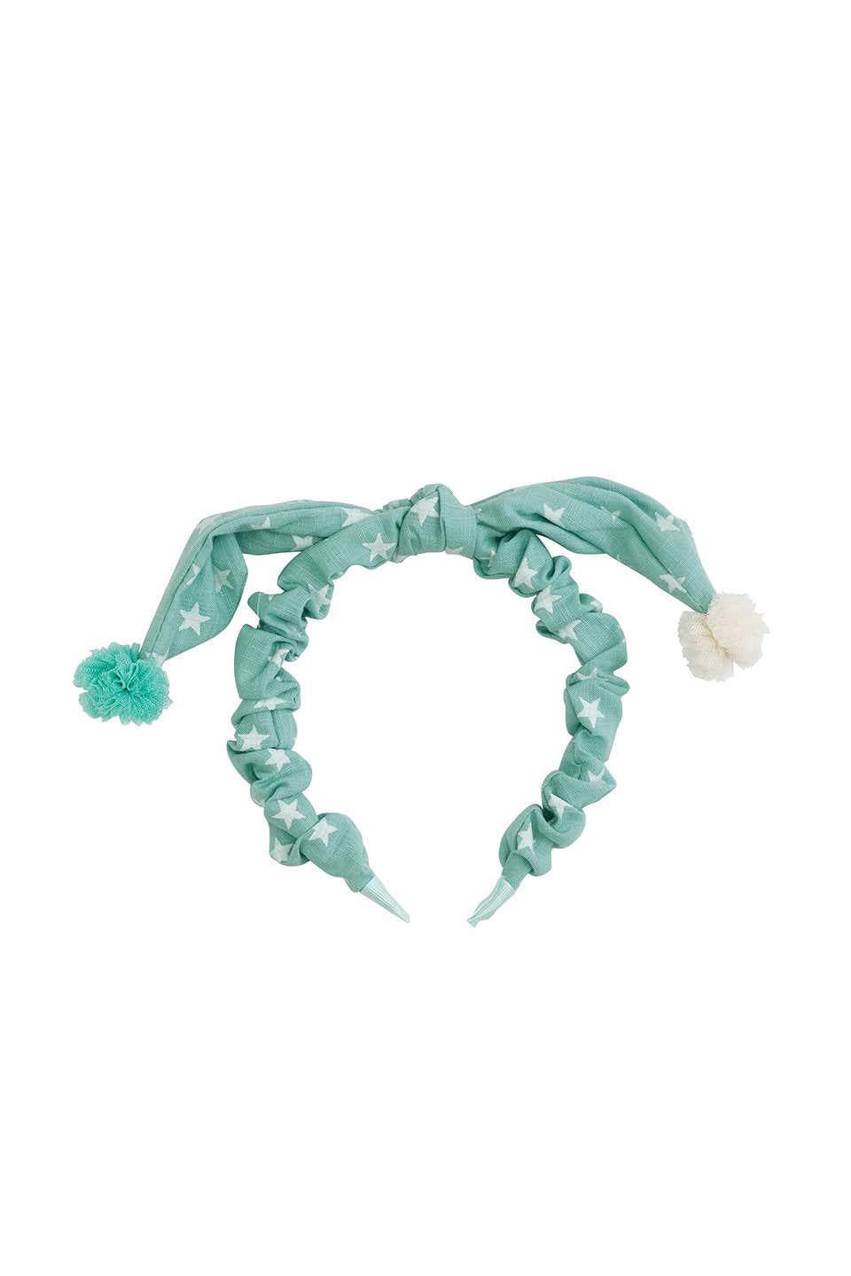 Sweet Dreams Headband - Teal Star - PROJECT 6, modest fashion