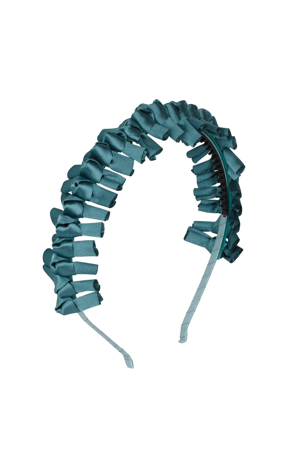 Satin Tied Headband - Teal - PROJECT 6, modest fashion