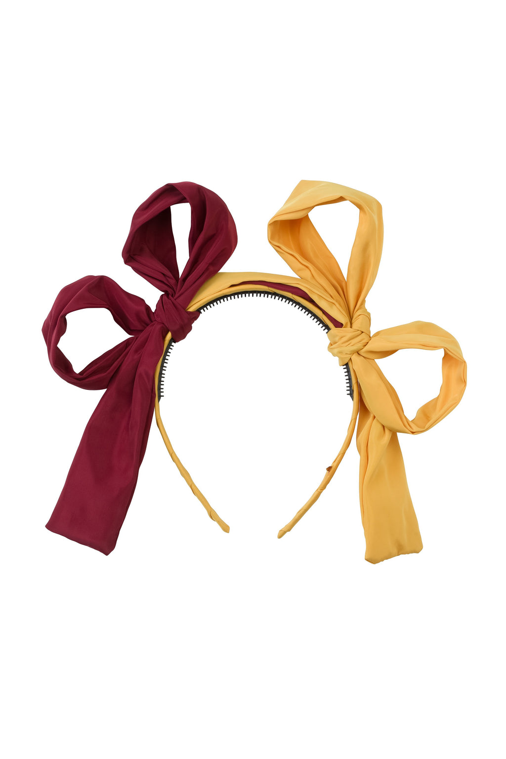 Side By Side Headband - Brick/Mustard - PROJECT 6, modest fashion