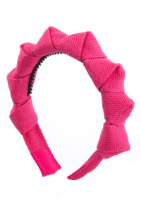 Skater Girl Headband - Hot Pink - PROJECT 6, modest fashion