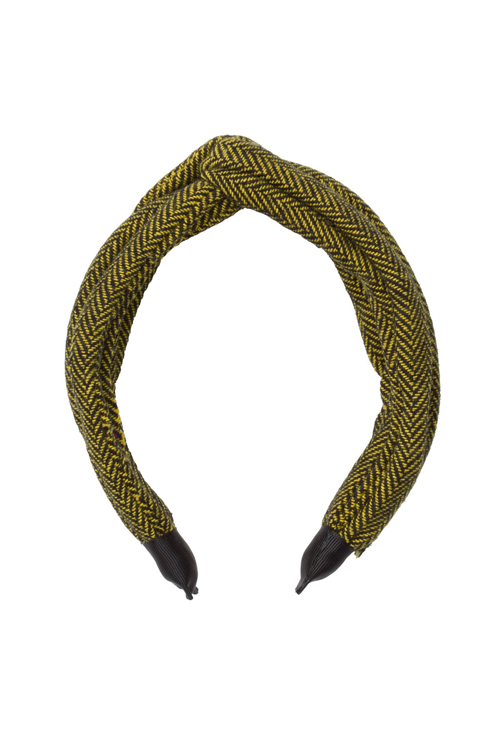 Tubular Herringbone Headband - Yellow - PROJECT 6, modest fashion