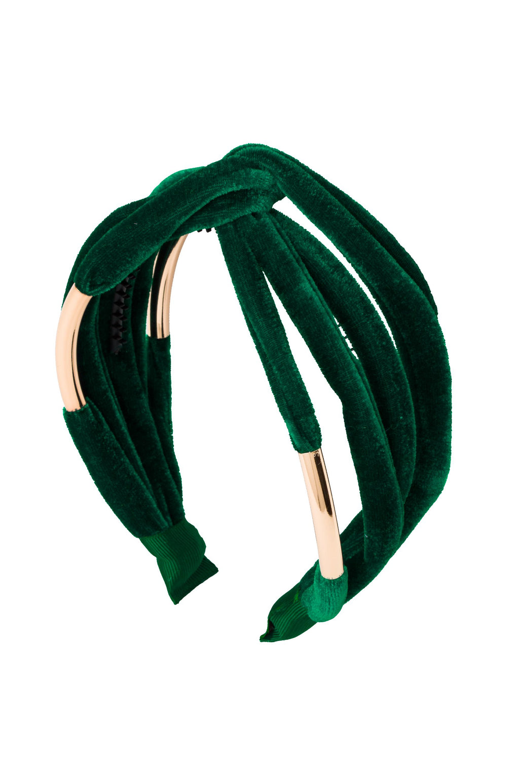 Tubular Headband - Green Velvet - PROJECT 6, modest fashion