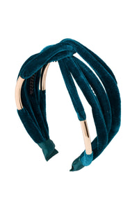 Tubular Headband - Teal Jewel Tone - PROJECT 6, modest fashion