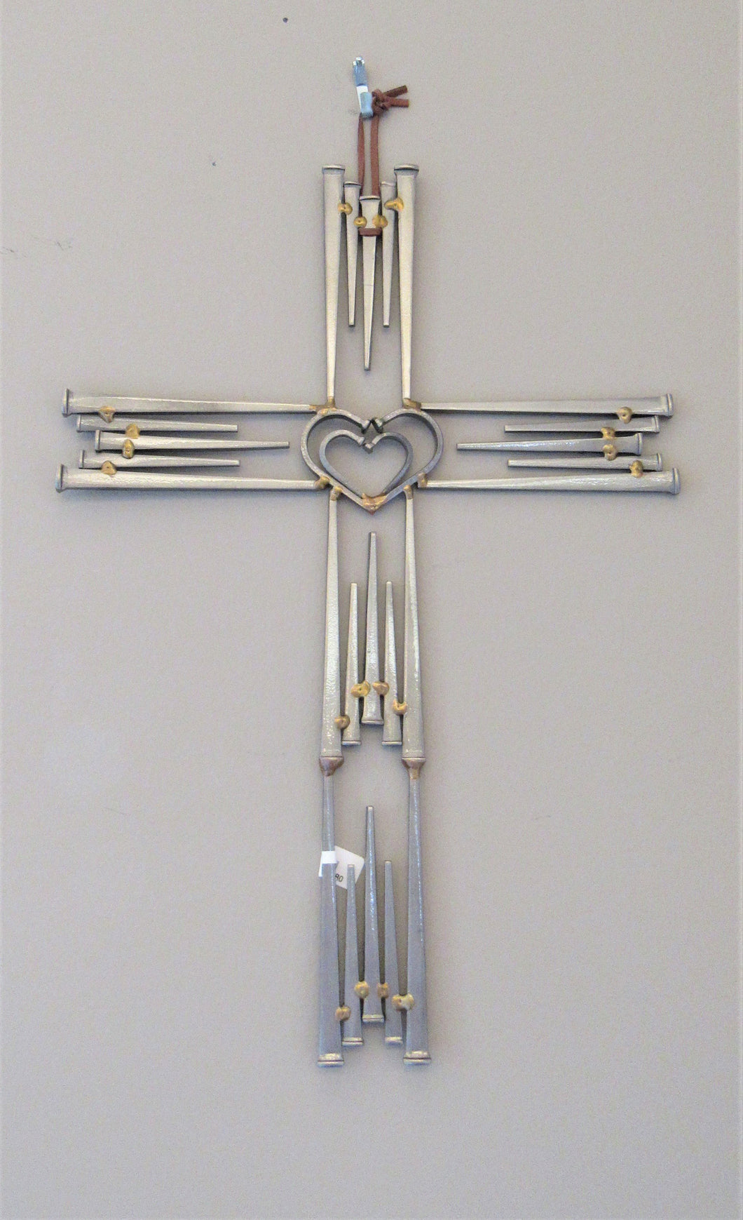 Double Heart Wall Cross