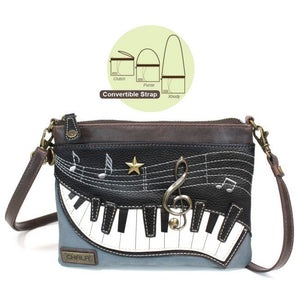 Mini Crossbody Piano Indigo