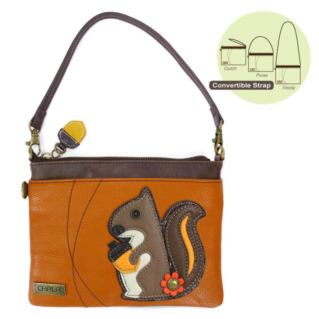 Mini Crossbody Squirrel Orange