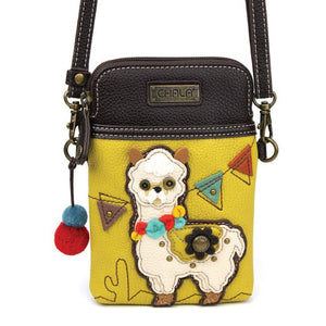 Cellphone Crossbody Llama