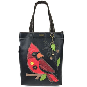 Everyday Zip Tote Cardinal/Black