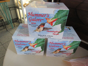 Hummer's Galore Liquid Nector Pack