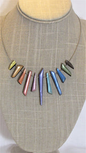 Icicle Necklace Pastels