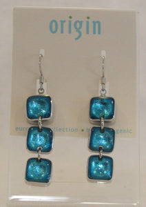 Square Turquoise Ear
