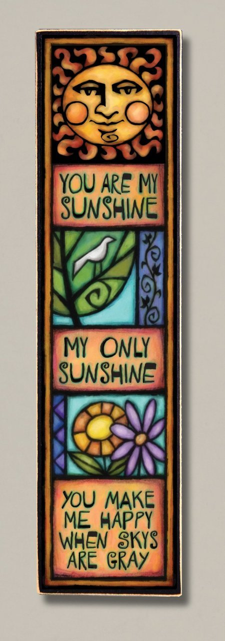 You Are My Sunshine Wood Art