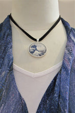 Load image into Gallery viewer, Hokusai Wave Pendant