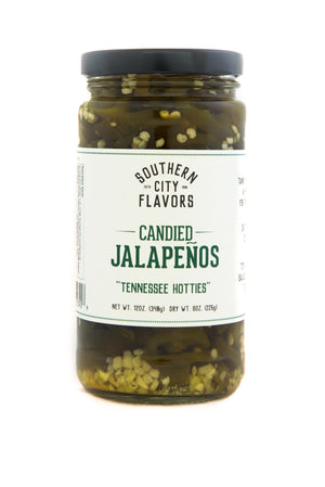 Pickled Candied Jalapeno