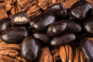 Dark Chocolate Gran Marrier Pecans