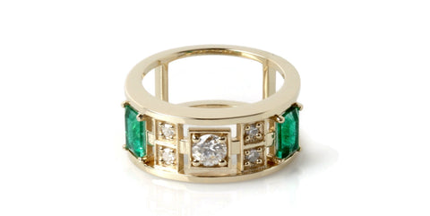 Heirloom Jewelry Becomes Modern Ring