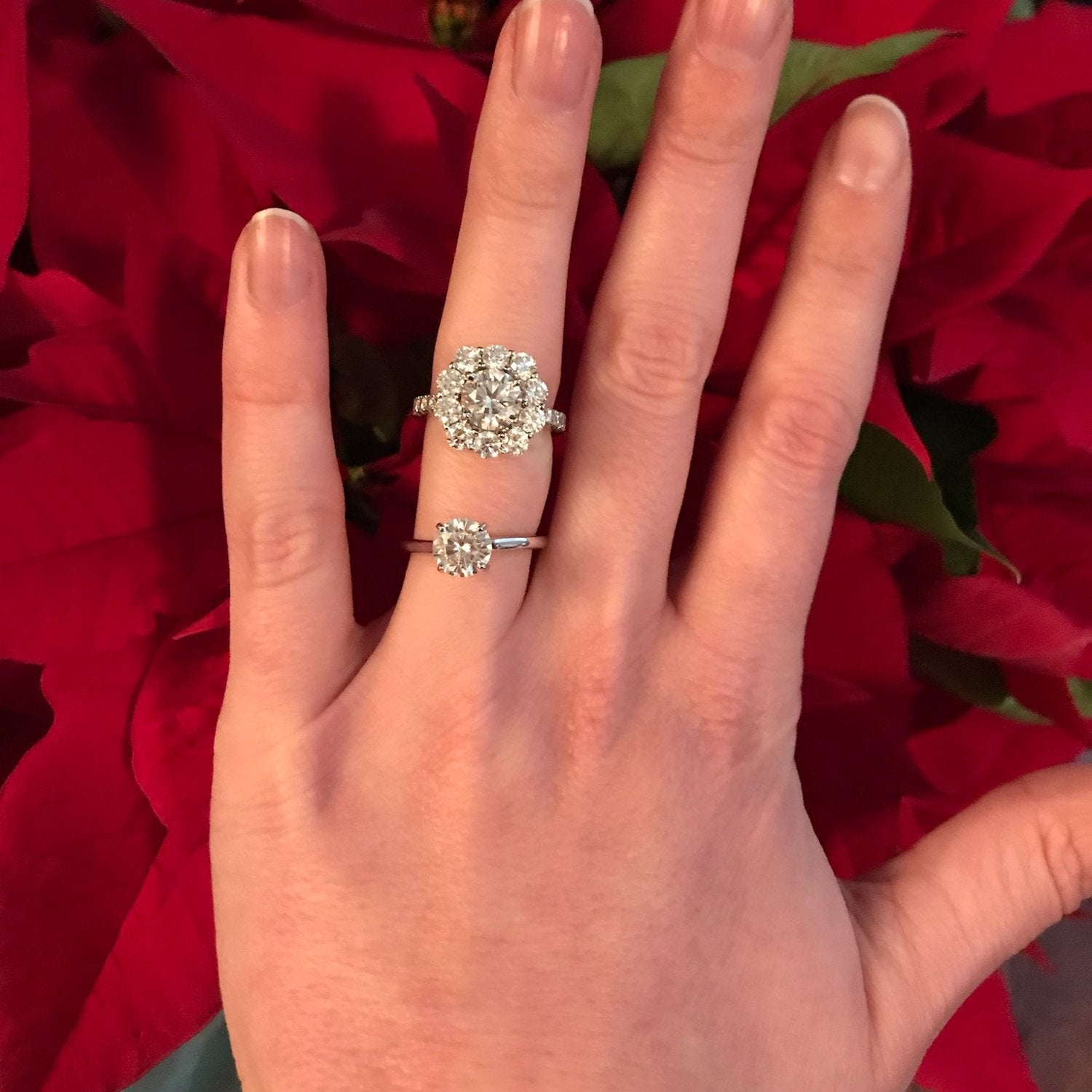 Solitaire Engagement Ring Upgrade
