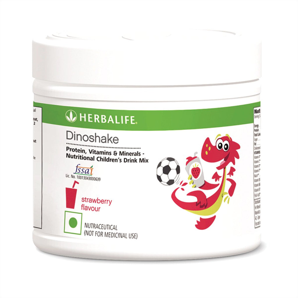 Herbalife Dinoshake Nutritional Children's Drink Mix Strawberry