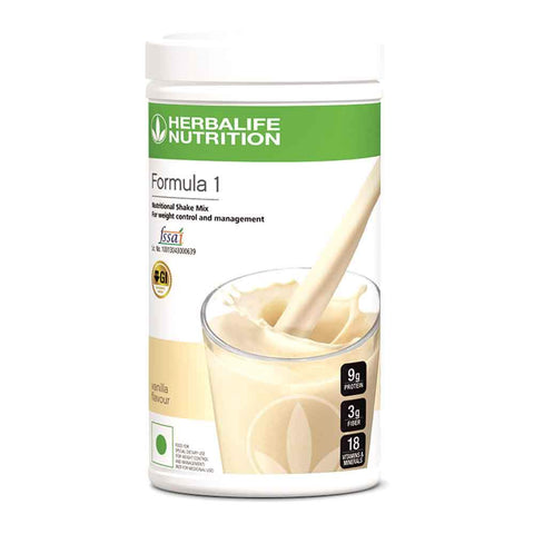 Herbalife Formula 1 Nutritional Shake Mix French Vanilla