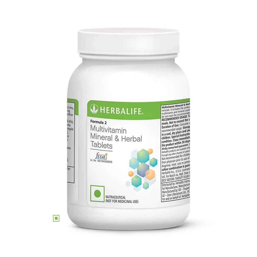 Herbalife Formula 2 Multivitamin Mineral And Herbal Tablets
