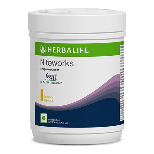 Herbalife Niteworks L-Arginine Powder Lemon