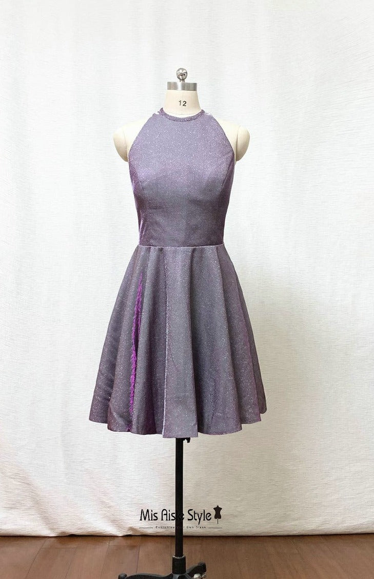 short sparkle homecoming dress