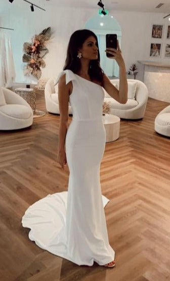 summer informal wedding dress