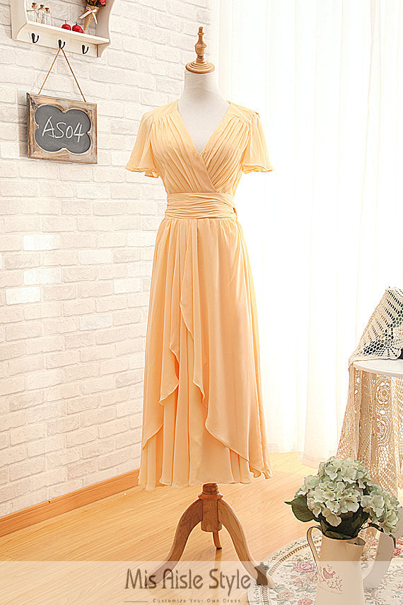 tea length formal party dress