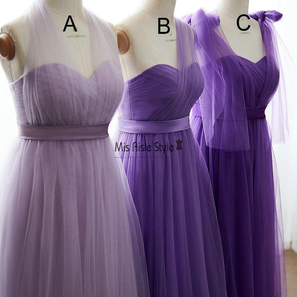 tulle bridesmaid dress