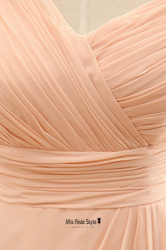 blush party dress
