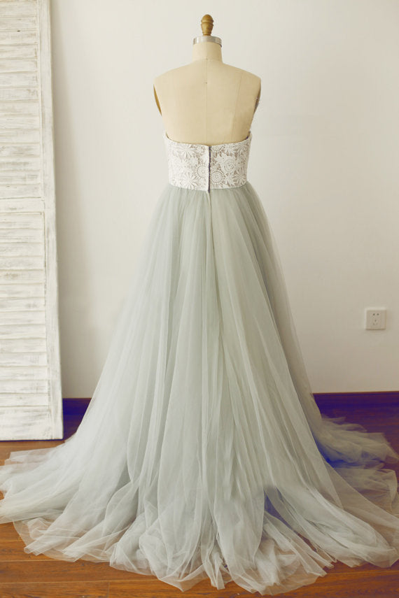 colorful wedding dress